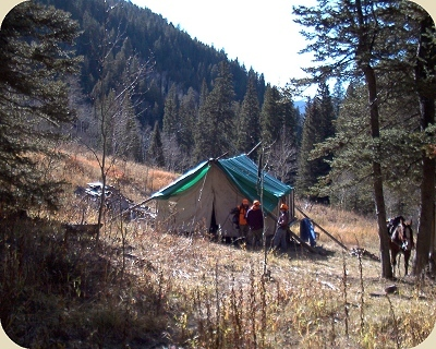 OLD TIME OUTFITTING SERVICE- Hunting drop camps, Colorado